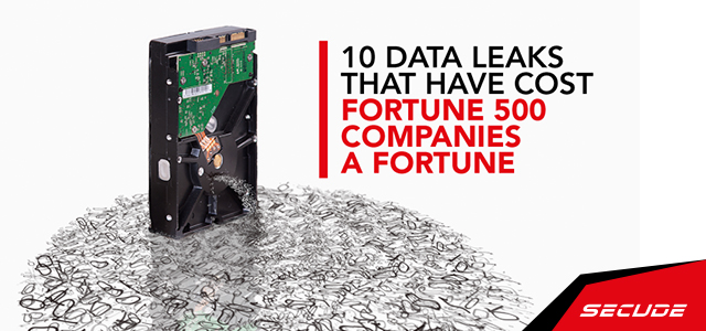 10 Data Leaks that have cost Fortune 500 companies a fortune