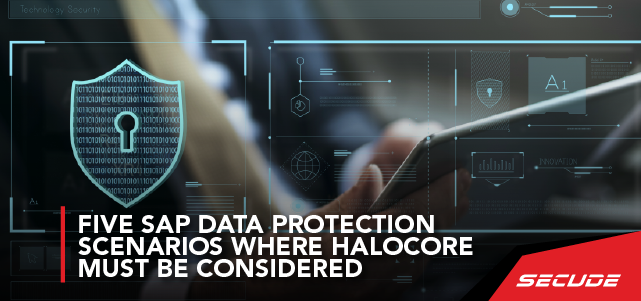 Five SAP data protection scenarios