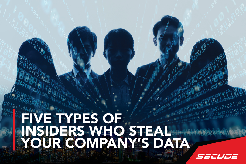 Five types of insiders who may steal your company's data